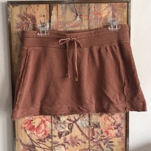 AARON CHANG STRETCH 💯% COTTON CASUAL MINI SKIRT M